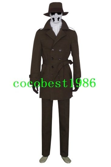 Walter Kovacs  Rorschach Cool Suit Cosplay Costume from Watchmen any size