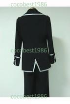 Gintama Shinsengumi Police Silver Cosplay Costume uniform coat pants und... - $76.21