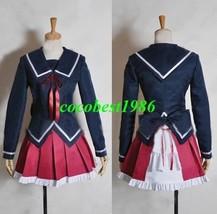 Kukuri Cosplay from K any size top skirt bowknot - $65.11
