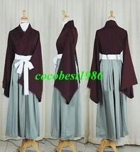 Hijikata Cosplay from Hakuouki any size kimono pants belt - $64.46