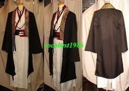 Kazama Cosplay (Kimono) from Hakuouki any size kimono belt cloak neck wear - $75.24
