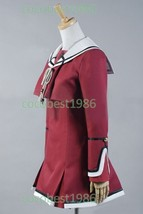 Hiiro no Kakera Portable Tamaki Kasuga Uniform Cosplay Costume Top Dress - $63.48