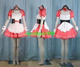 Mikuru Cosplay (Red Maid Costume) from The Melancholy of Haruhi Suzumiya - $57.65