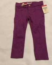 Osh Kosh B'gosh Girls Jeans Size 2 Toddler Purple E-Z Adjust Waist Nwt!! - $9.90