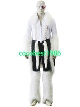 Bleach Stark Release Form Cosplay Costume Accessory Top Pant Any size - $77.99