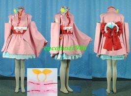 Ranka Cosplay (Girasama) from Macross Frontier any size kimono belt bow knot - $84.05