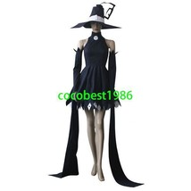 Soul Eater Blair Cosplay Costume  any size  Body Skirt Hat sleeves - $66.39