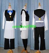 Corn Costume from Pokemon any size shirt jacket bow tie pants apron - $64.46