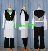 Dent Cosplay from Pokemon  any size shirt jacket bow tie pants apron - $64.46
