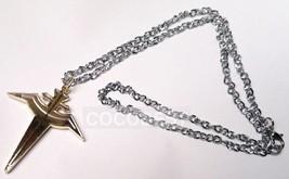 Hakkenden-Touhou Hakken Cross Pendant Necklace Cosplay Accessory - $5.77