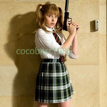 Hit Girl Cosplay (Uniform) from Kick Ass Any size skirt Shirt tie - $65.44