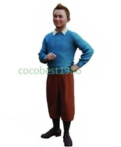 Tintin Cosplay from The Adventures of Tintin Any size Sweater shirt pants - $90.89