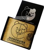 Danganronpa monokuma Embossing Leather Wallet Anime Wallet - $15.90