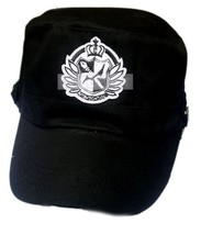 Danganronpa campus badge Flat topped hat Anime cap - $8.02
