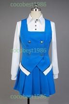 Kiniro Mosaic Yoko Inokuma Cosplay Costume skirt Top shirt - $54.85