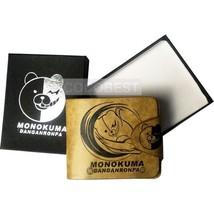 Danganronpa monokuma Embossing Leather Wallet Anime purse - $15.90