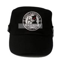 Danganronpa Monokuma Headmaster Logo Flat topped hat Anime cap - $8.80