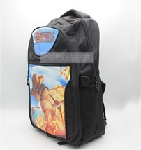 One Piece Ace Pattern Backpack Schoolbag Anime Backpack - $22.65