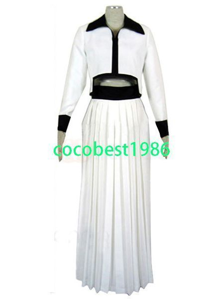 Bleach Grimmjow halloween Cosplay Costume Any size Jacket Trousers Belt