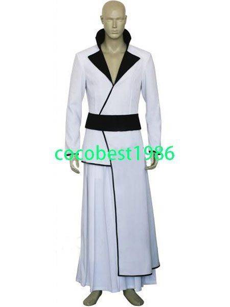 Bleach Stark Halloween Cosplay Costume KimonoSash Hakama Any size custom-made