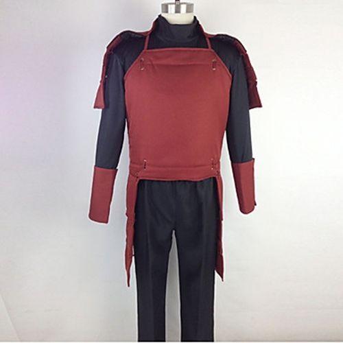 Naruto Hashirama Senju Cosplay Costume Pants Top vest Any size custom-made