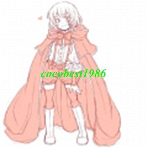Lily Costume from Pandora Hearts any size  cloak shorts shirt bowknot