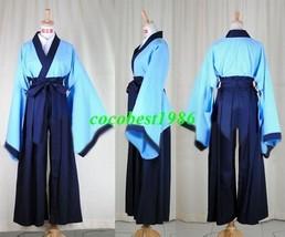 Sojiro Cosplay from Rurouni Kenshin  any size shirt kimono pants belt - $64.46