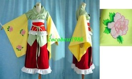 Hieda Cosplay from Touhou Project any size kimono Accessory - $89.92
