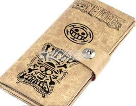 One Piece Law Leather wallet Anime purse - $12.29
