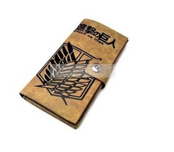 Attack on Titan Scout Legion Leather wallet Anime purse - $11.19