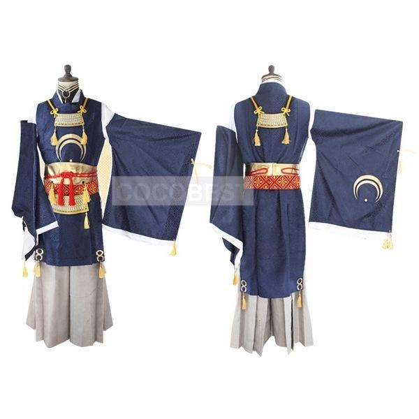 Touken Ranbu Mikazuki Munechika Cosplay Costume Coat Inner Wear top Pants Gloves