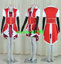Akiza Cosplay from Yu Gi Oh any size top outfit gloves waistband accessorie - $84.05