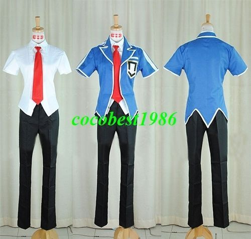 Leo Costume from Yu Gi Oh 5Ds any size shirt pants tie coat