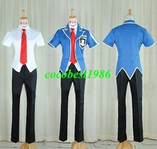 Leo Costume from Yu Gi Oh 5Ds any size shirt pants tie coat - $77.19