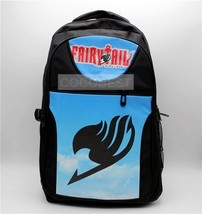 Fairy Tail Black Backpack Schoolbag Anime Backpack - $19.59