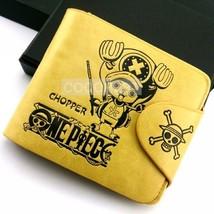 One Piece Chopper Pattern Leather Wallet Anime purse - $10.87
