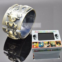 One Piece Logo Full Alloy Bracelet Cosplay Accessory - $14.69