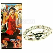 One Piece Luffy  Metal bracelet Cosplay Accessory - $6.63