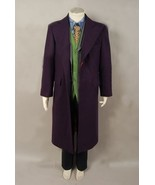 Dark Knight Joker wool purple trench coat costume all size coat pants ve... - $95.33