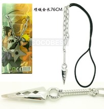 New Style Naruto Kunai Weapon model Long Necklace Punk Type - $5.54