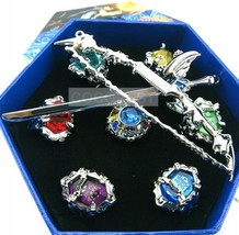 Hitman Reborn 7PCS Crystal Ring and 2PCS Prop Set Cosplay Accessories - $14.66