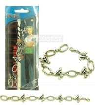 One Piece The straw hat Pirates Metal Bracelet Cosplay Accessory - $6.06