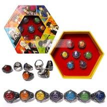 Hitman Reborn 10th Logo Seven Color Ring Set Cosplay Accessories - $9.05