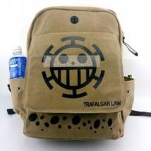One Piece Trafalgar Law canvas Backpack Schoolbag Travelling bag Anime Bag - $23.01