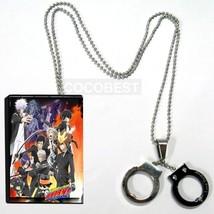 Hitman Reborn Hibari Kyōya Handcuffs model Pendant Necklace Cosplay Accessories - $9.91
