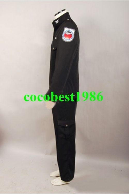 Stargate Universe SGU Black Uniform Costume Jacket Pants any size
