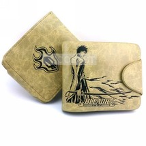 Bleach Kurosaki Ighigo Embossing Characters Leather Wallet gift for Male - $9.91