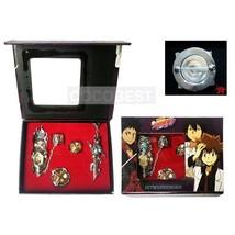 Hitman Reborn Sawada Tsunayoshi Ring+Finger-cot+Yamamoto Takeshi+Reborn  Brooch - $12.90