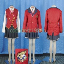 Erika Cosplay from Fortune Arterial cosplay costume skirt Overcoat vest ... - $78.17