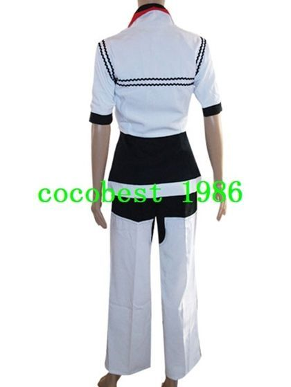 Kingdom Hearts Roxas Halloween Cosplay Costume any size  Jacket Trousers Shirt